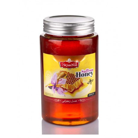 عسل زعفرانی یک کیلوگرمی