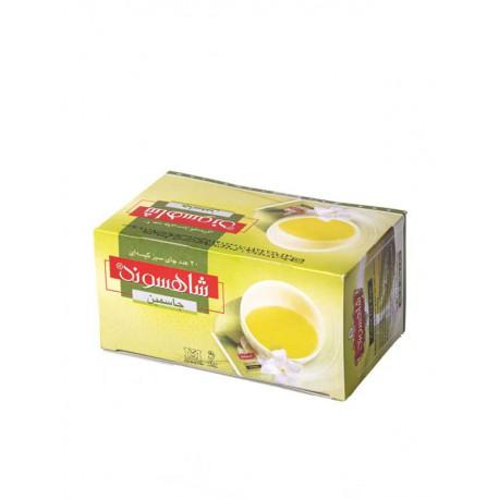 چای کیسه ای سبز جاسمین پوشش دار
