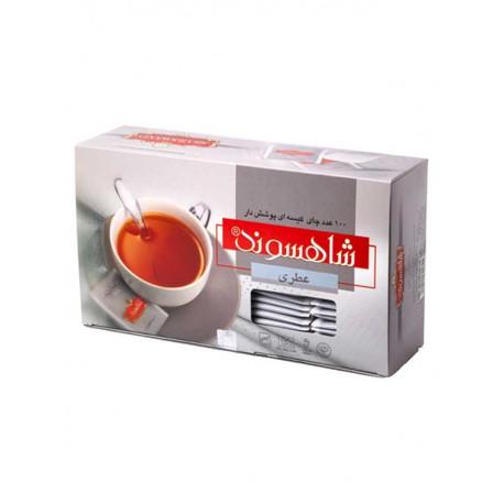 چای کیسه ای عطری 100 عددی