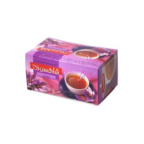 چای کیسه ای زعفرانی