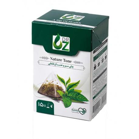 چای سبز و نعناع دکتر آز