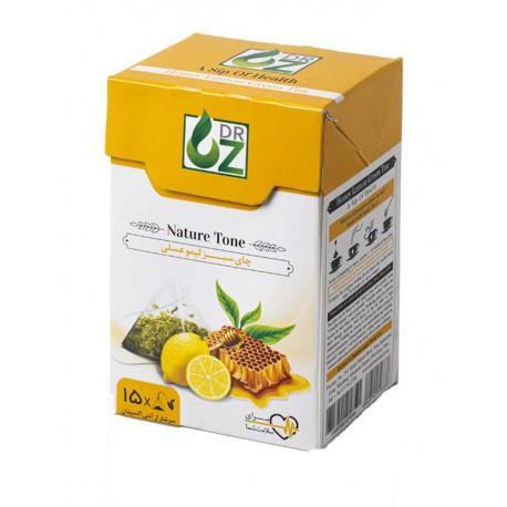 چای سبز لیمو عسلی دکتر آز