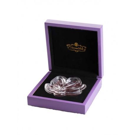 جعبه کادویی زعفران 4 گرمی طرح ویولت