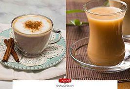 تفاوت چای لاته و چای ماسالا